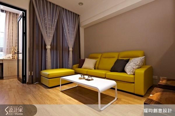 18坪新成屋(5年以下)_休閒風客廳案例圖片_耀昀創意設計_耀昀_20之3