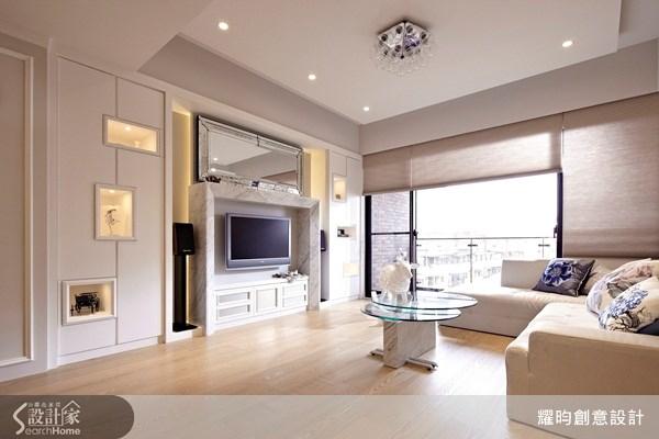 39坪新成屋(5年以下)_北歐風客廳案例圖片_耀昀創意設計_耀昀_22之3