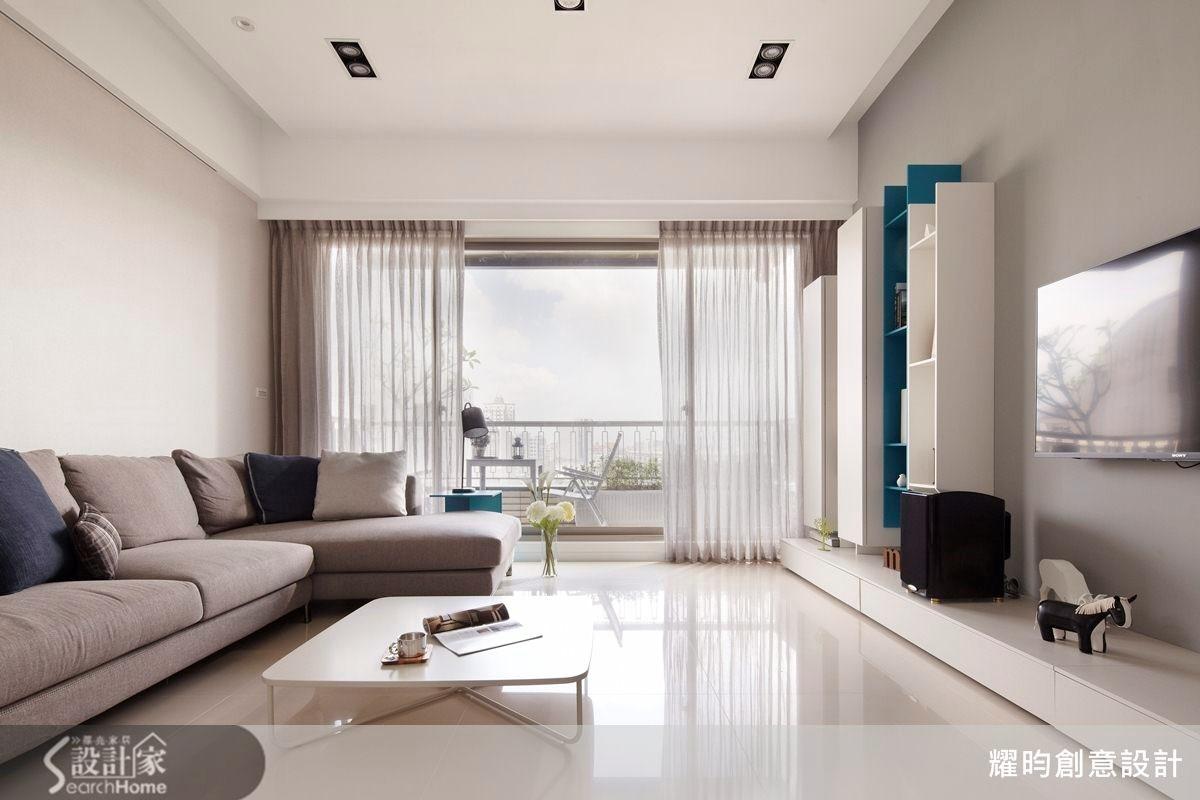 34坪新成屋(5年以下)_北歐風客廳案例圖片_耀昀創意設計_耀昀_25之1