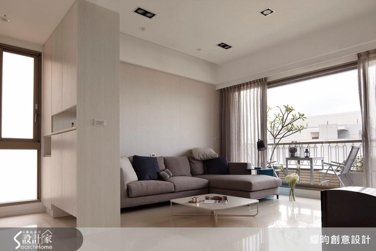 34坪新成屋(5年以下)_北歐風客廳案例圖片_耀昀創意設計_耀昀_25之4