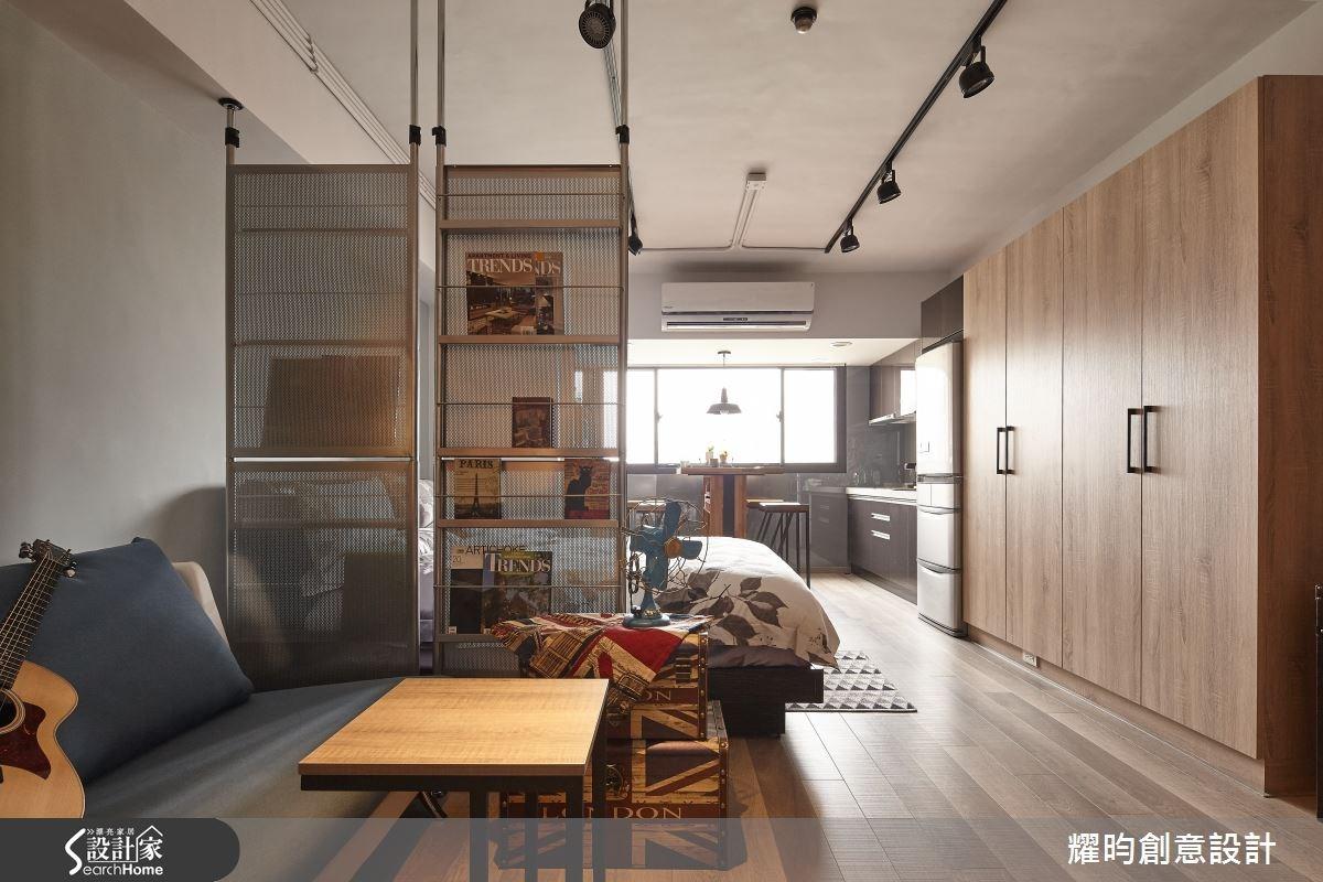 14坪老屋(16~30年)_工業風客廳案例圖片_耀昀創意設計_耀昀_27之11