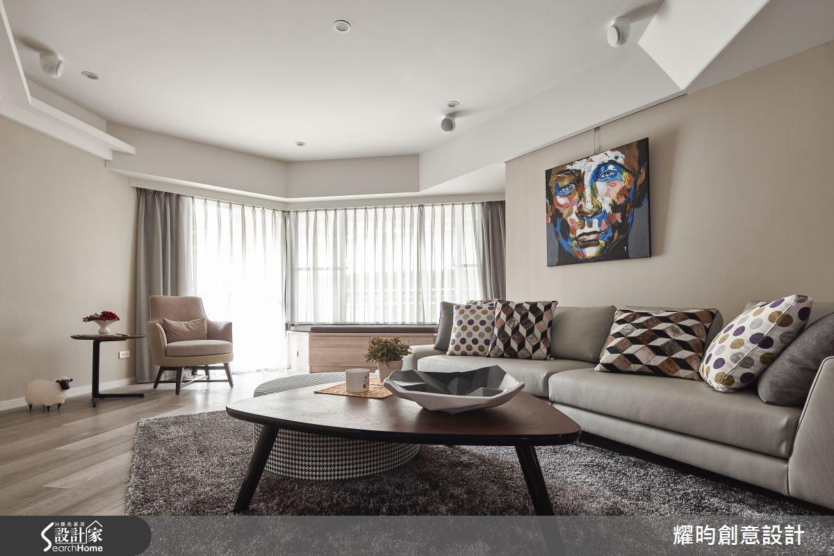 40坪老屋(16~30年)_北歐風客廳案例圖片_耀昀創意設計_耀昀_29之2