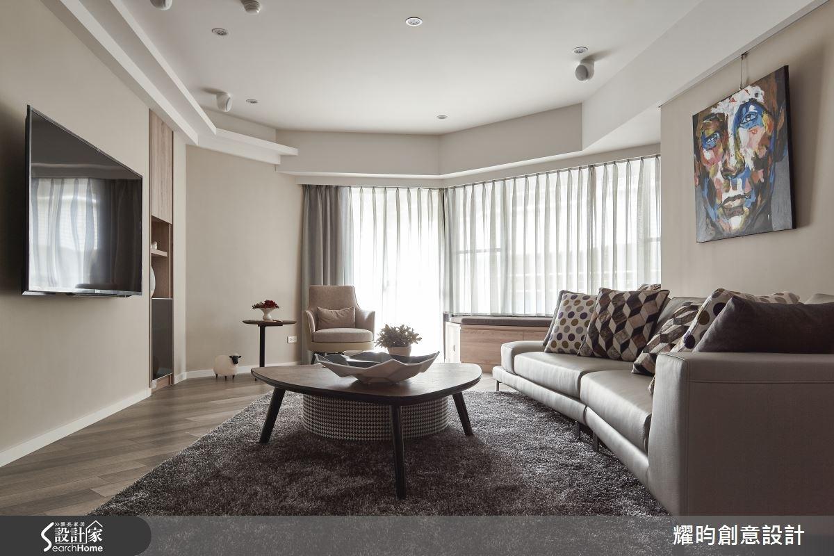 40坪老屋(16~30年)_北歐風客廳案例圖片_耀昀創意設計_耀昀_29之3
