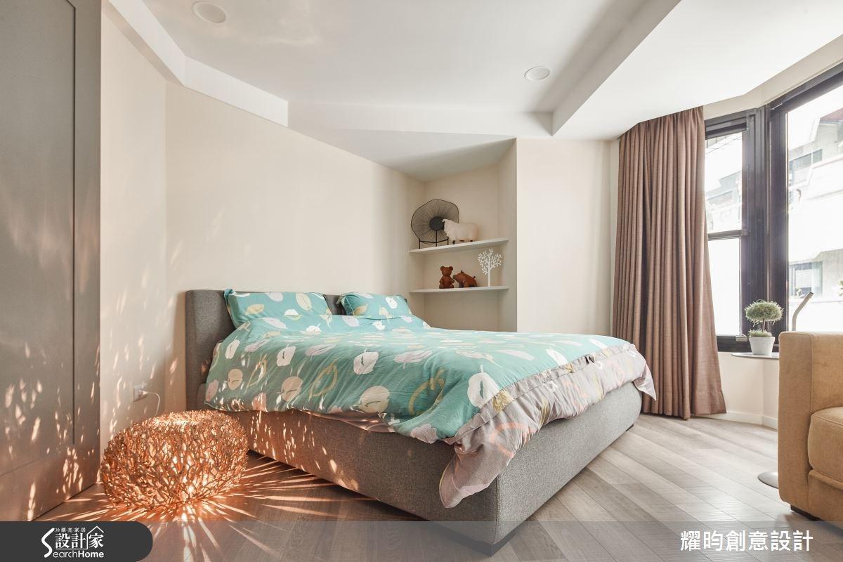 40坪老屋(16~30年)_北歐風臥室案例圖片_耀昀創意設計_耀昀_29之27