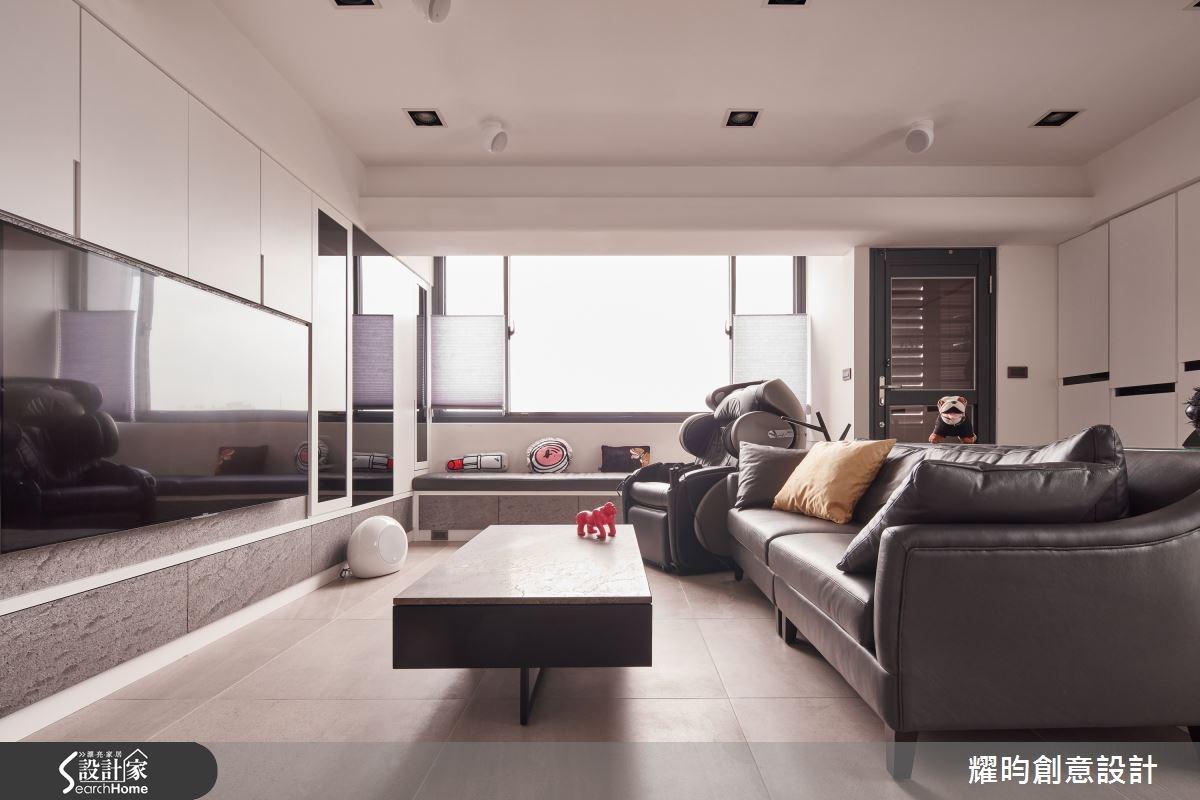 23坪老屋(16~30年)_北歐風客廳案例圖片_耀昀創意設計_耀昀_30之1