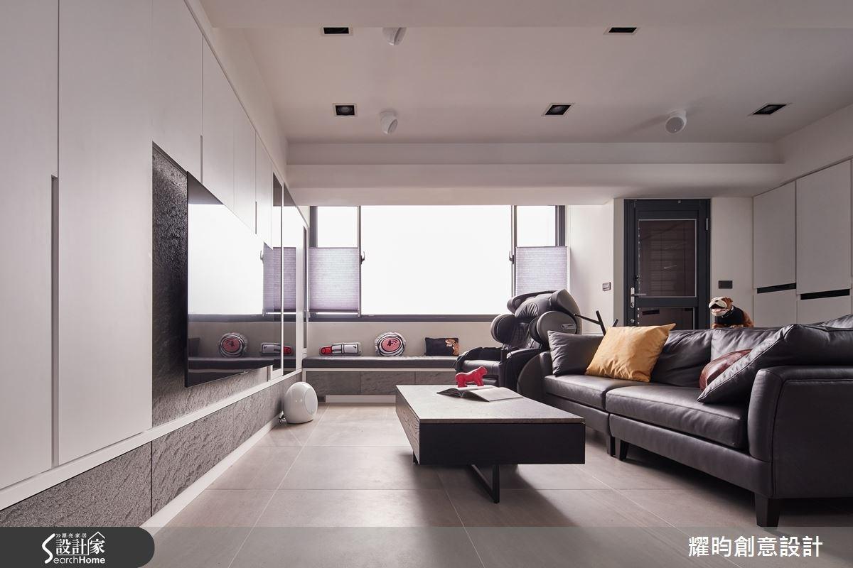 23坪老屋(16~30年)_北歐風客廳案例圖片_耀昀創意設計_耀昀_30之2
