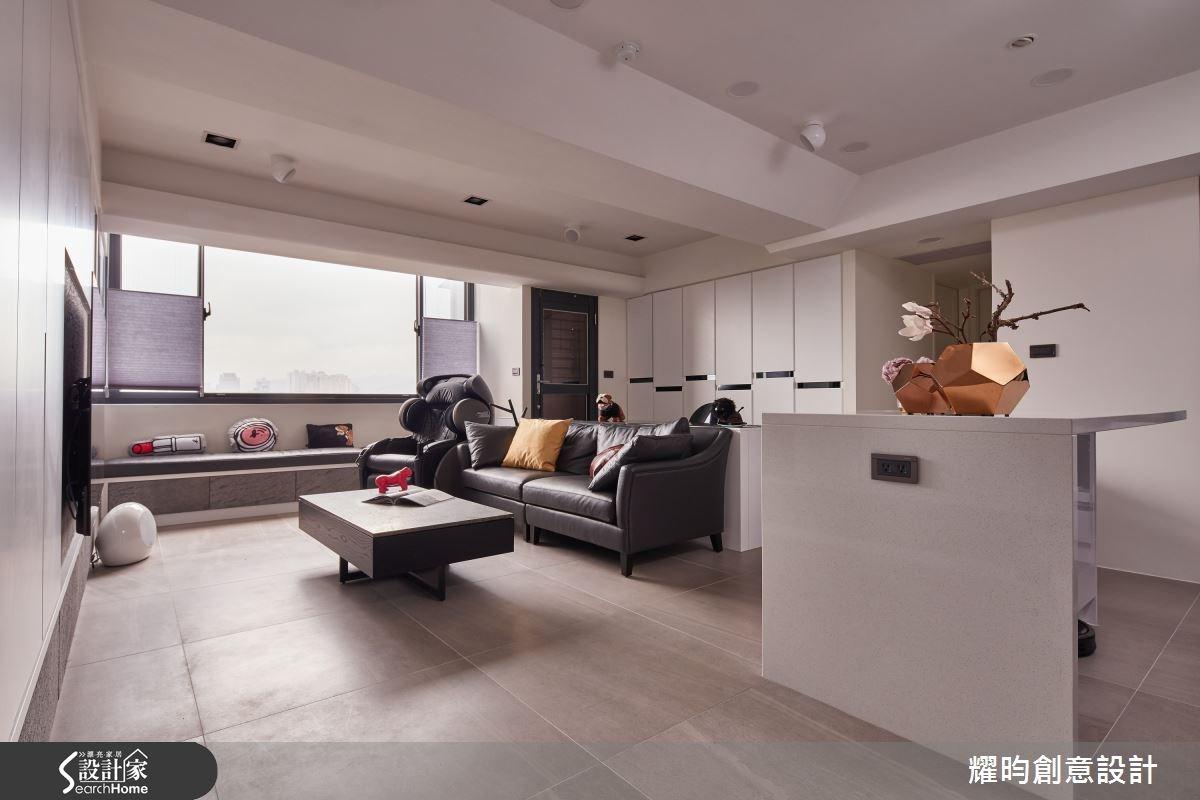 23坪老屋(16~30年)_北歐風客廳案例圖片_耀昀創意設計_耀昀_30之4