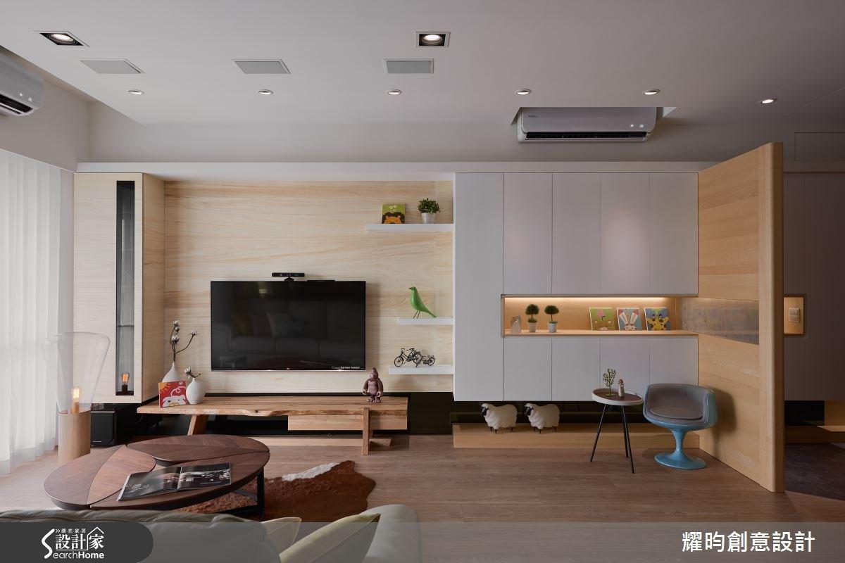 34坪新成屋(5年以下)_北歐風客廳案例圖片_耀昀創意設計_耀昀_31之4