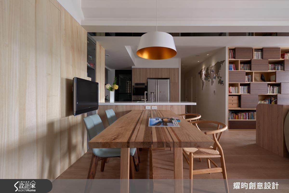 34坪新成屋(5年以下)_北歐風餐廳案例圖片_耀昀創意設計_耀昀_31之7