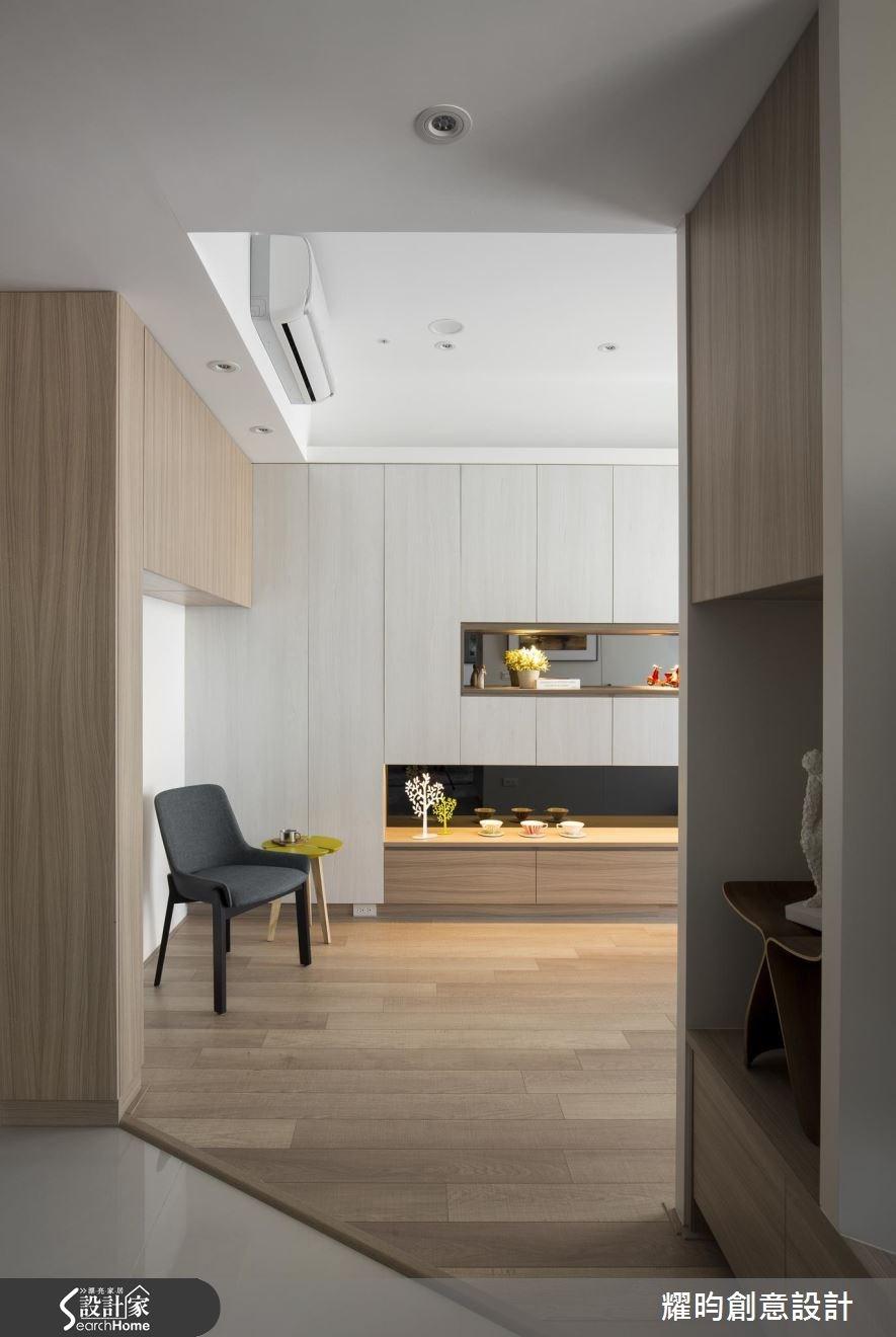 40坪新成屋(5年以下)_北歐風玄關客廳案例圖片_耀昀創意設計_耀昀_32之1