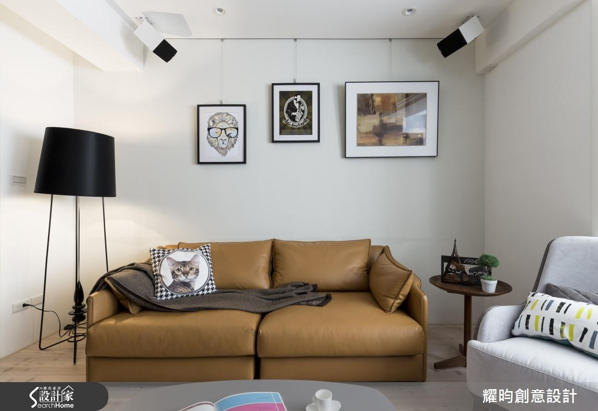 31坪老屋(16~30年)_北歐風客廳案例圖片_耀昀創意設計_耀昀_34之4