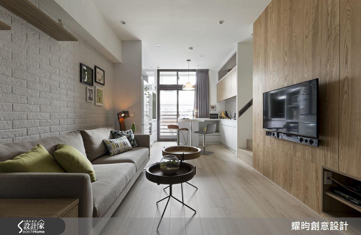 21坪新成屋(5年以下)_北歐風客廳吧檯案例圖片_耀昀創意設計_耀昀_33之1