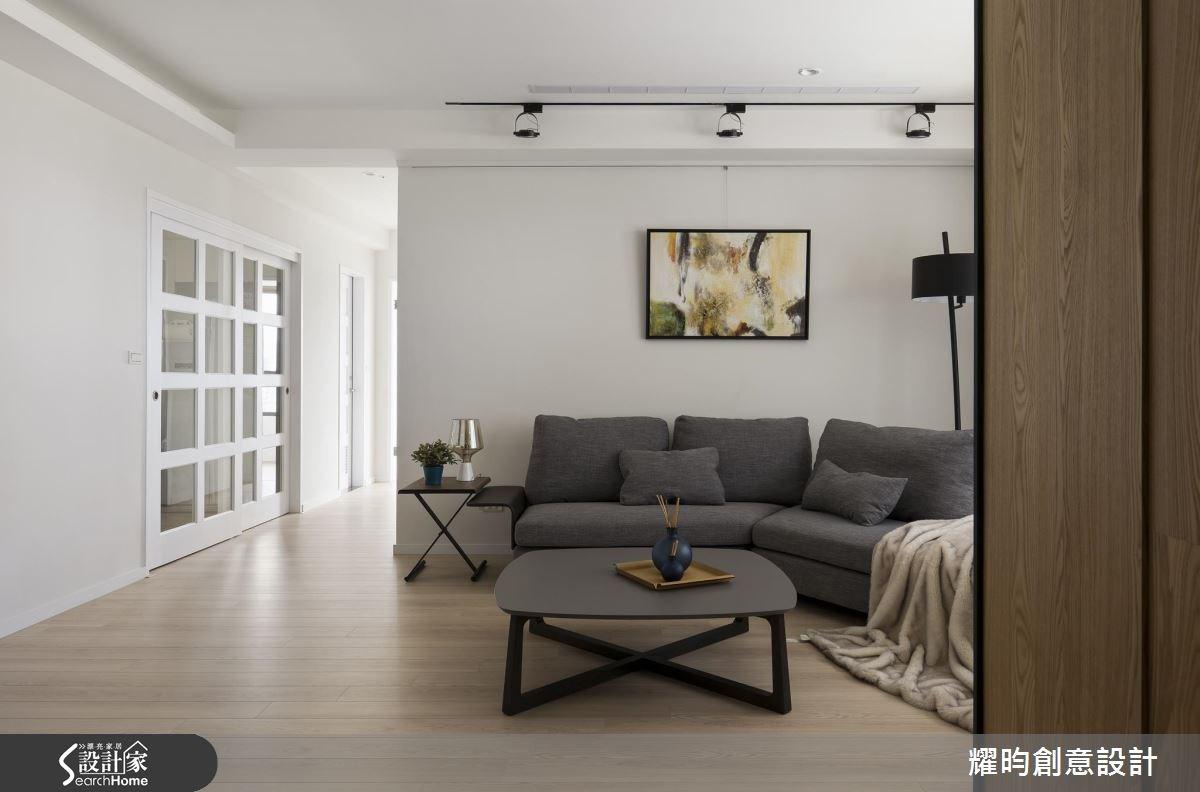 29坪新成屋(5年以下)_北歐風客廳案例圖片_耀昀創意設計_耀昀_39之2