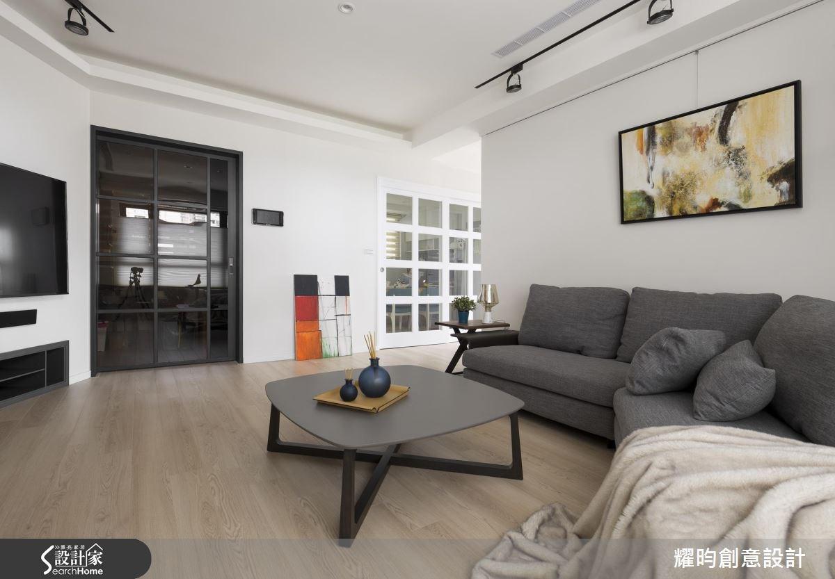 29坪新成屋(5年以下)_北歐風客廳案例圖片_耀昀創意設計_耀昀_39之3