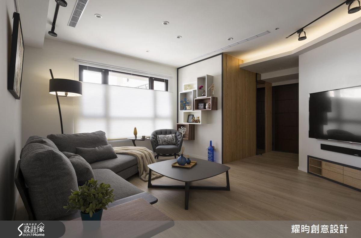 29坪新成屋(5年以下)_北歐風客廳案例圖片_耀昀創意設計_耀昀_39之4