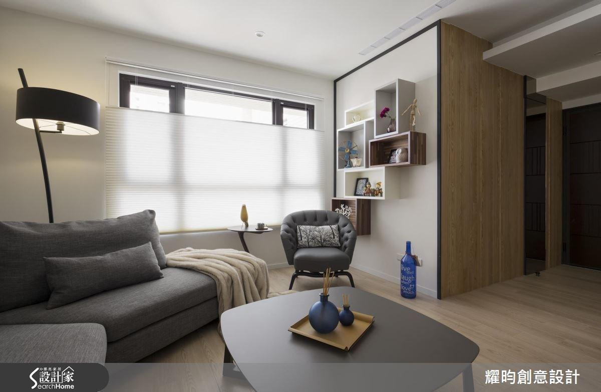 29坪新成屋(5年以下)_北歐風客廳案例圖片_耀昀創意設計_耀昀_39之5