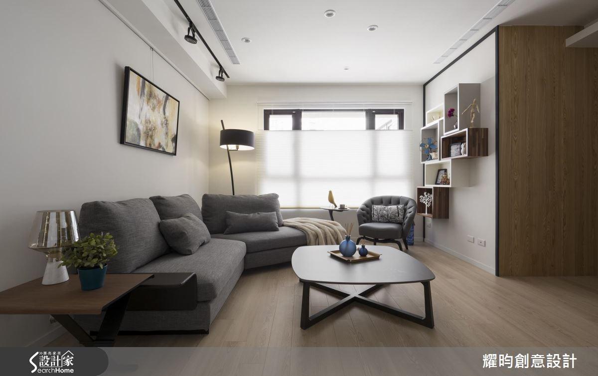 29坪新成屋(5年以下)_北歐風客廳案例圖片_耀昀創意設計_耀昀_39之6
