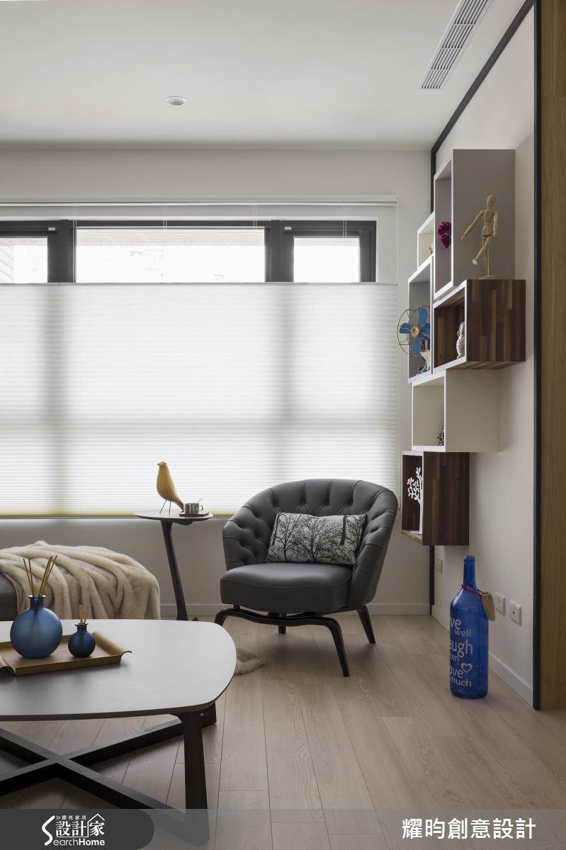 29坪新成屋(5年以下)_北歐風客廳案例圖片_耀昀創意設計_耀昀_39之7