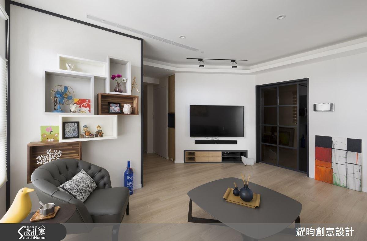 29坪新成屋(5年以下)_北歐風客廳案例圖片_耀昀創意設計_耀昀_39之8