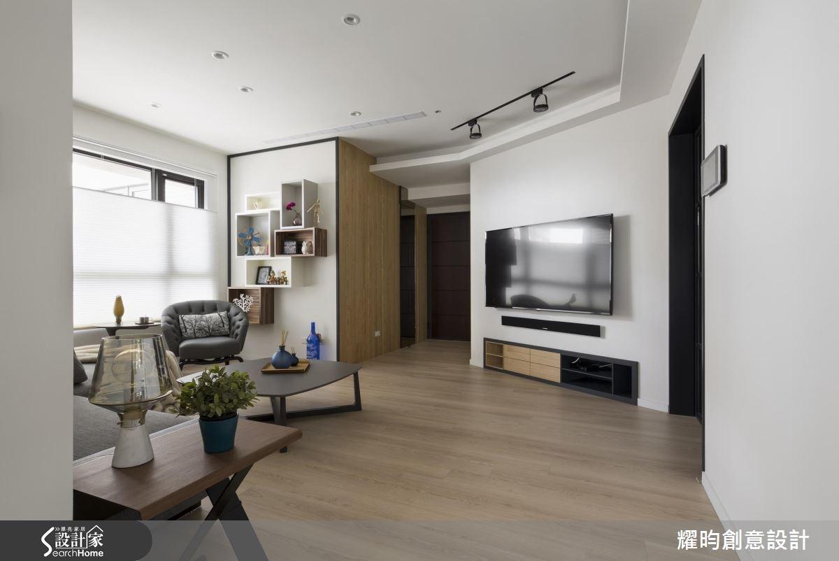 29坪新成屋(5年以下)_北歐風玄關客廳案例圖片_耀昀創意設計_耀昀_39之11