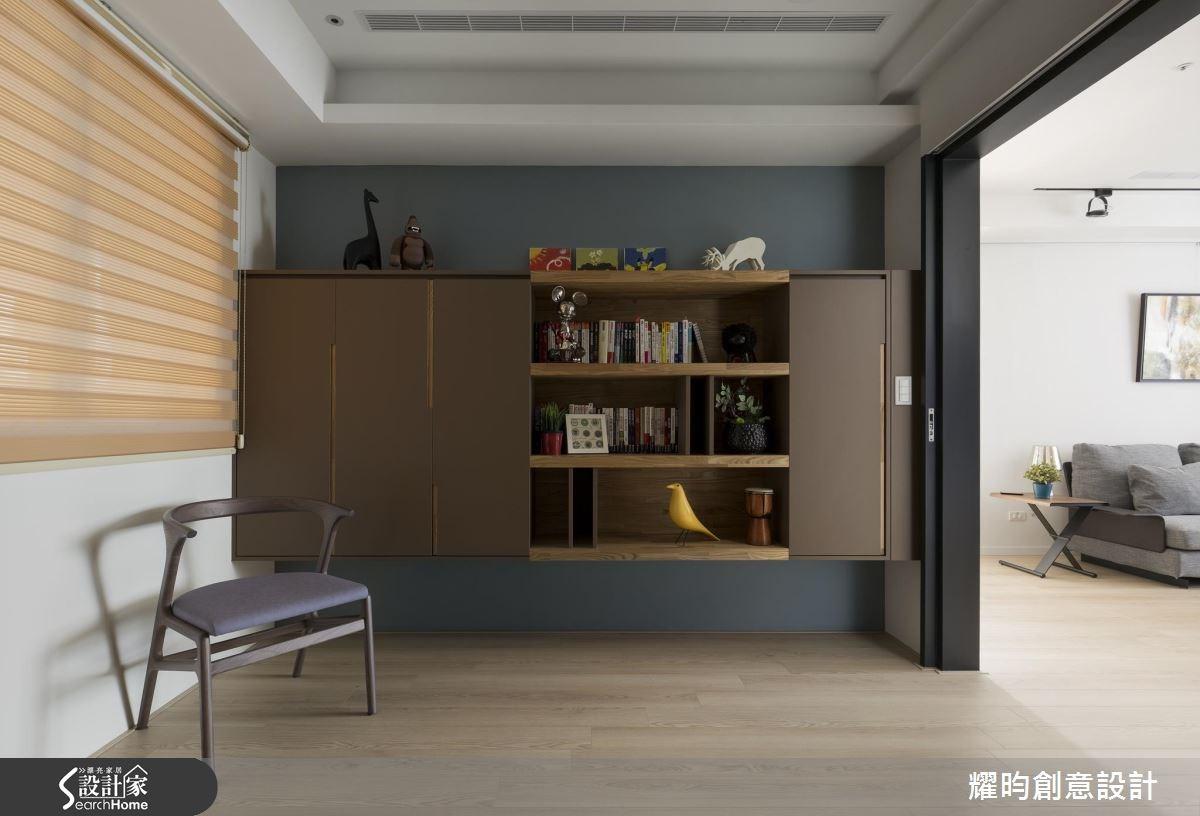 29坪新成屋(5年以下)_北歐風書房案例圖片_耀昀創意設計_耀昀_39之12