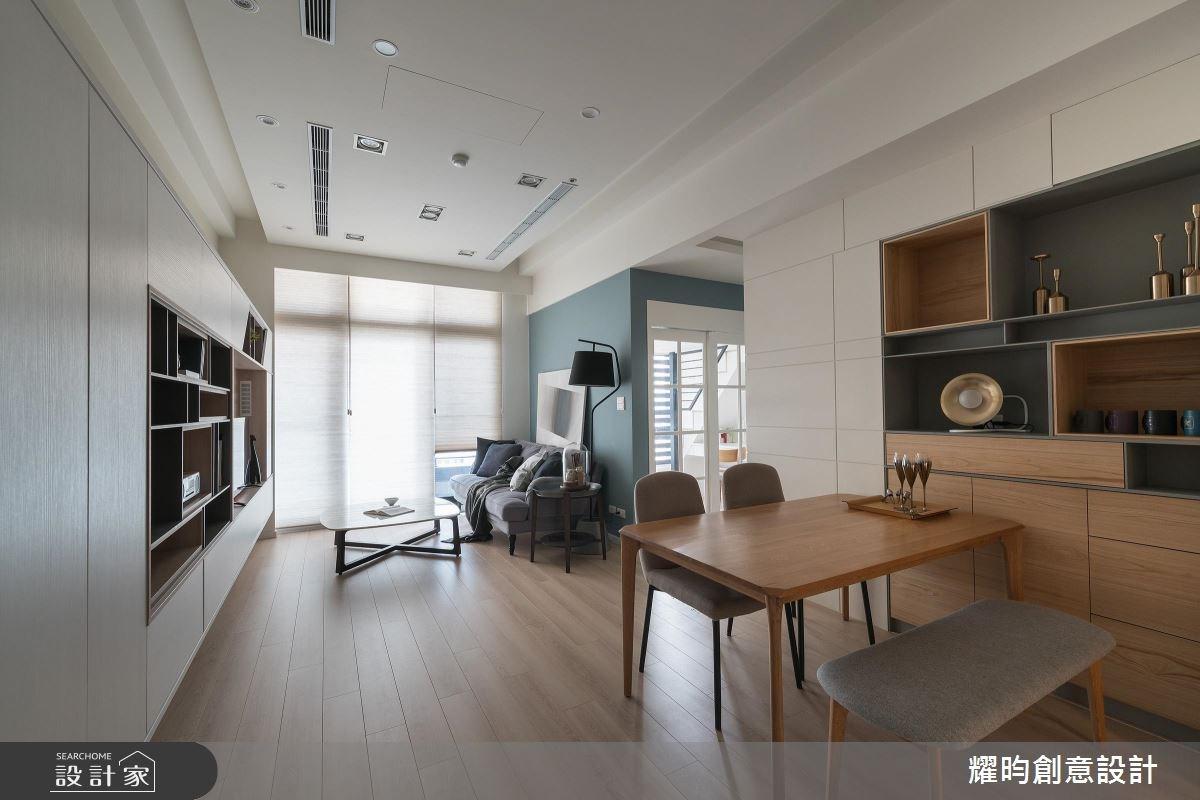25坪新成屋(5年以下)_北歐風客廳餐廳案例圖片_耀昀創意設計_耀昀_42之2