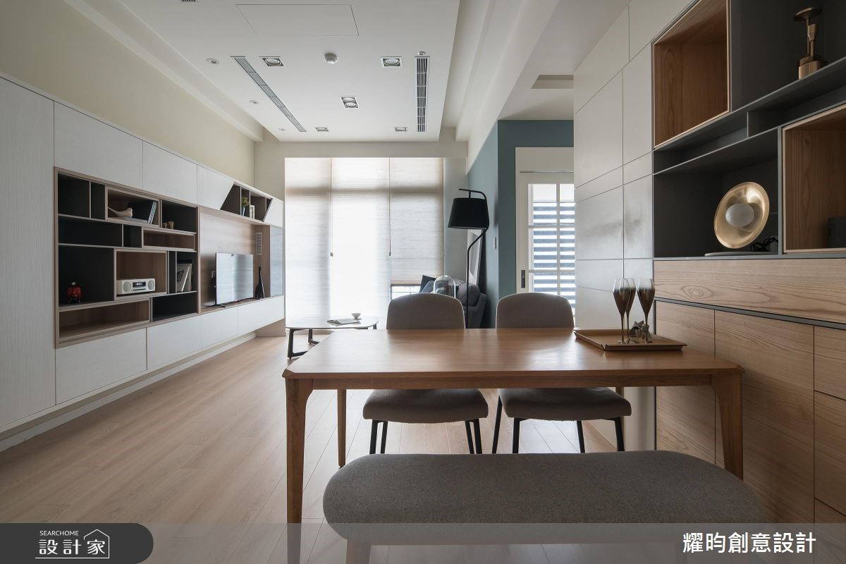 25坪新成屋(5年以下)_北歐風客廳餐廳案例圖片_耀昀創意設計_耀昀_42之3