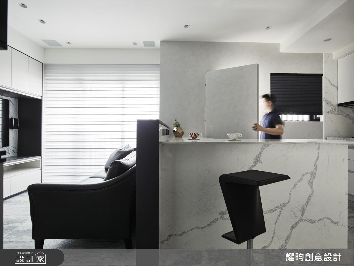 新成屋(5年以下)_北歐風客廳吧檯案例圖片_耀昀創意設計_耀昀_43之2
