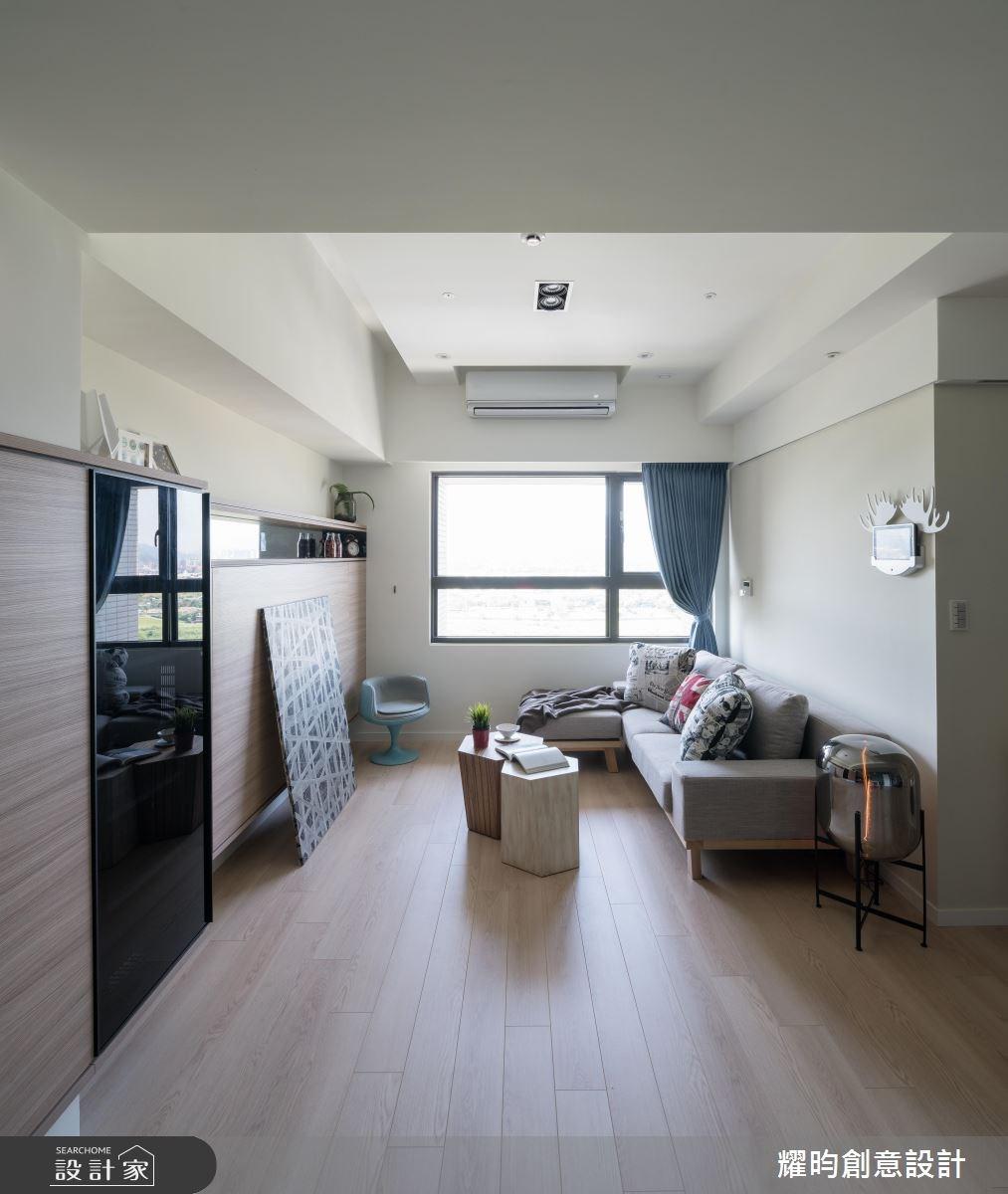 22坪新成屋(5年以下)_北歐風客廳案例圖片_耀昀創意設計_耀昀_44之3