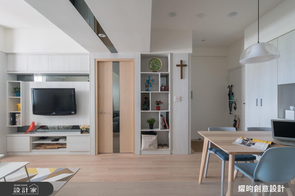 16坪老屋(16~30年)_北歐風客廳案例圖片_耀昀創意設計_耀昀_46之3