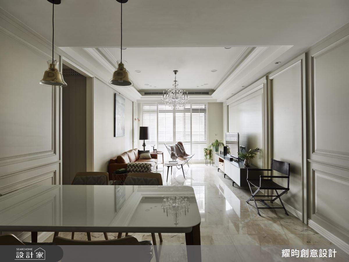 36坪新成屋(5年以下)_北歐風餐廳案例圖片_耀昀創意設計_耀昀_47之2