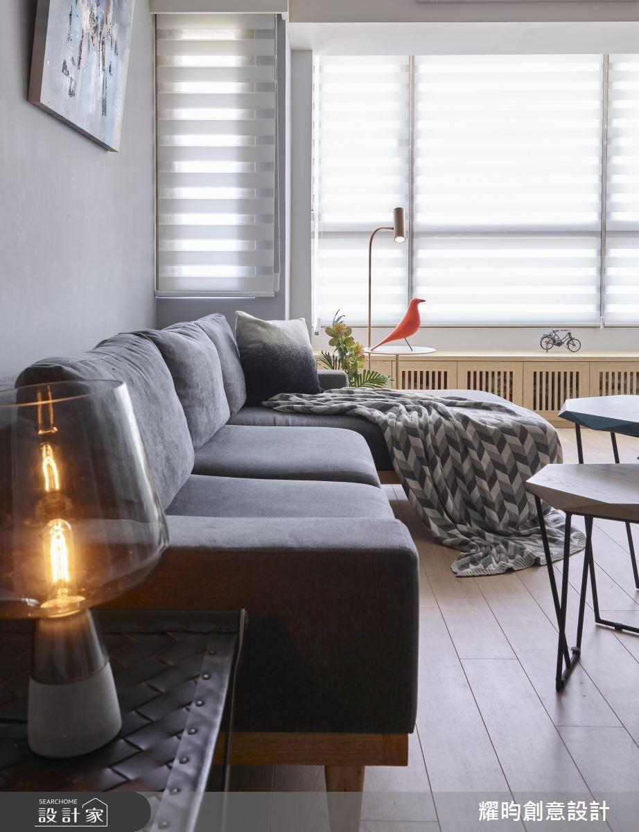 30坪老屋(16~30年)_北歐風客廳案例圖片_耀昀創意設計_耀昀_48之4