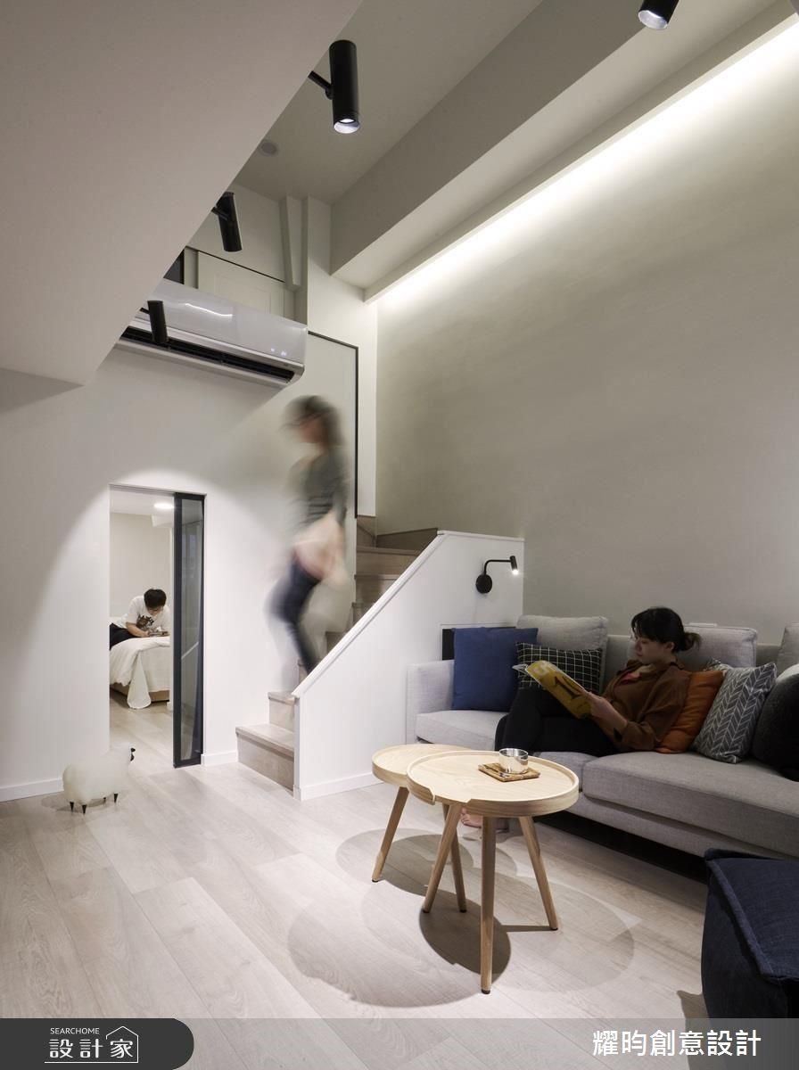 14坪中古屋(5~15年)_北歐風客廳案例圖片_耀昀創意設計_耀昀_49之4