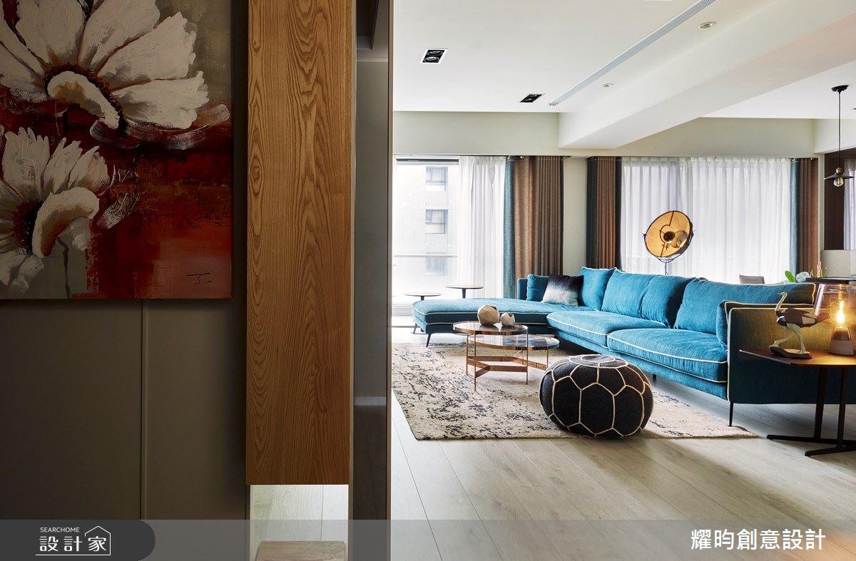 57坪新成屋(5年以下)_北歐風客廳案例圖片_耀昀創意設計_耀昀_52之1