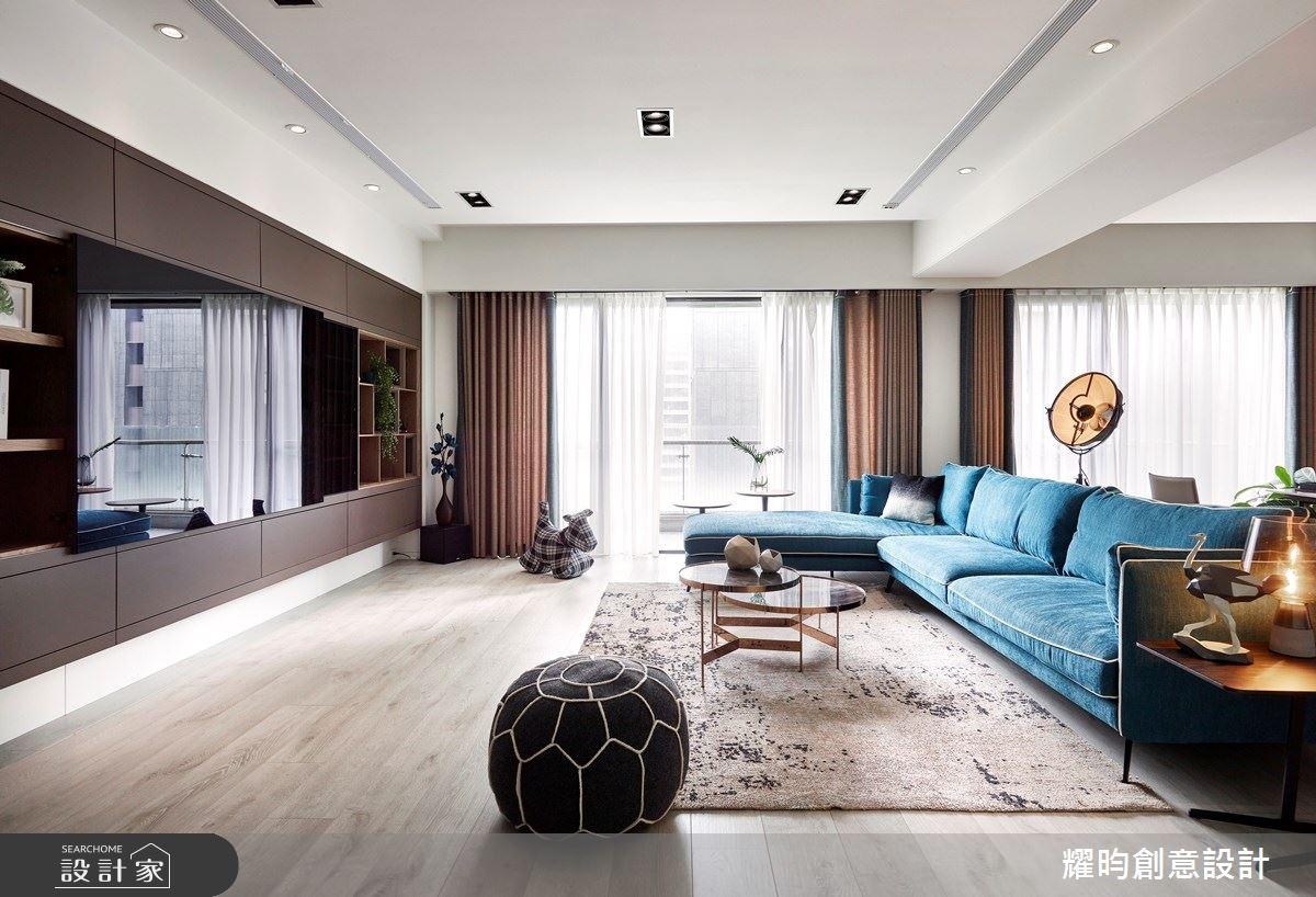 57坪新成屋(5年以下)_北歐風客廳案例圖片_耀昀創意設計_耀昀_52之3