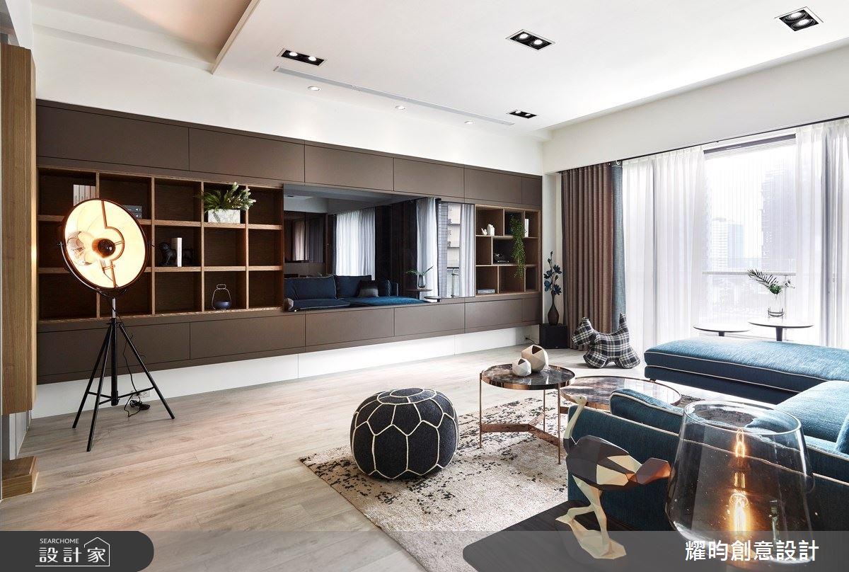57坪新成屋(5年以下)_北歐風客廳案例圖片_耀昀創意設計_耀昀_52之5