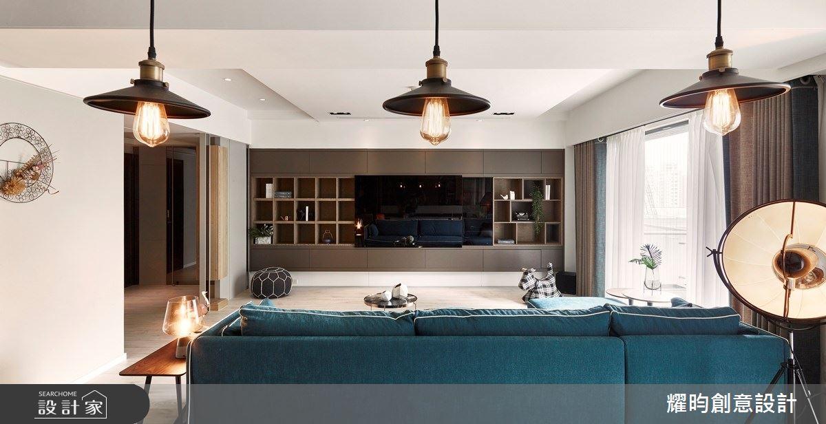 57坪新成屋(5年以下)_北歐風客廳案例圖片_耀昀創意設計_耀昀_52之6