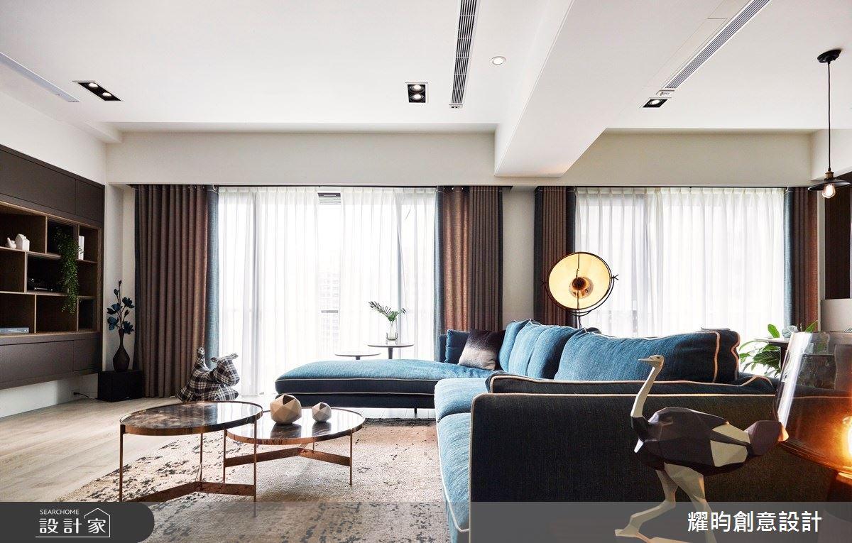 57坪新成屋(5年以下)_北歐風客廳案例圖片_耀昀創意設計_耀昀_52之10