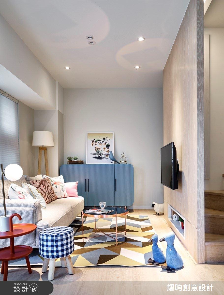 14坪新成屋(5年以下)_北歐風客廳案例圖片_耀昀創意設計_耀昀_53之2