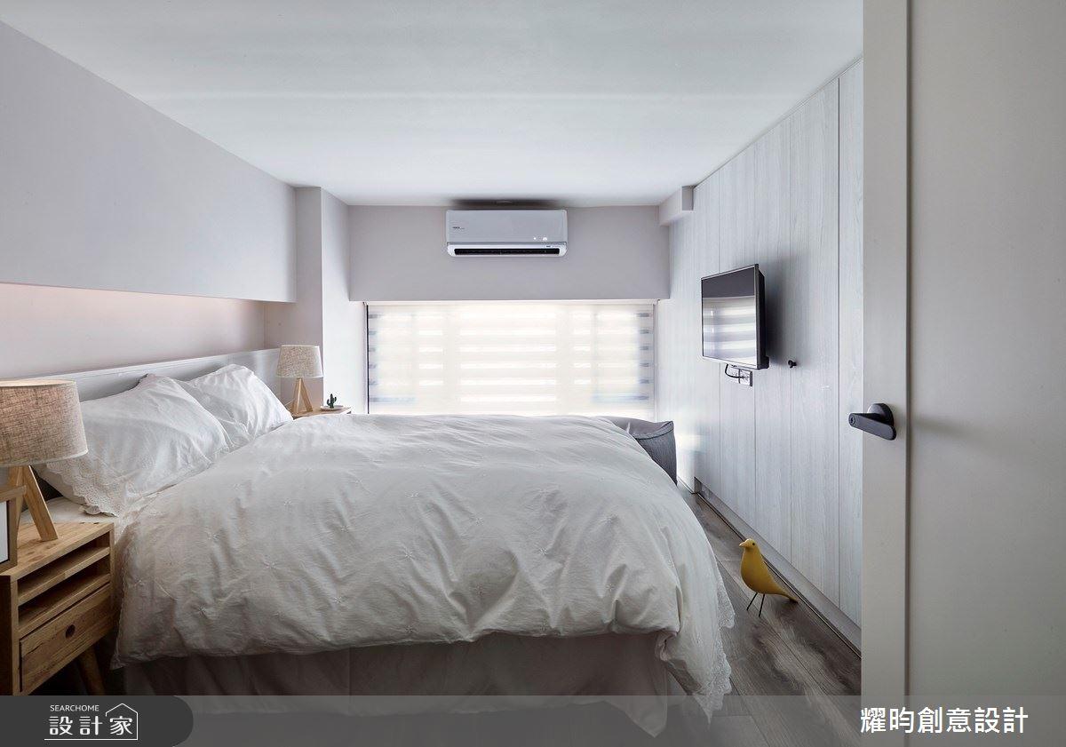 14坪新成屋(5年以下)_北歐風臥室案例圖片_耀昀創意設計_耀昀_53之18