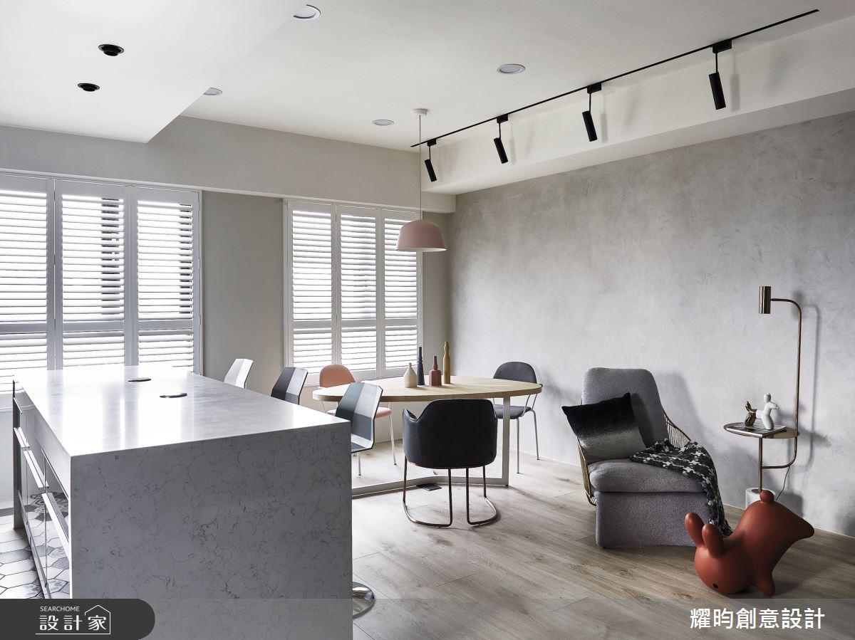 31坪新成屋(5年以下)_北歐風餐廳案例圖片_耀昀創意設計_耀昀_54之4