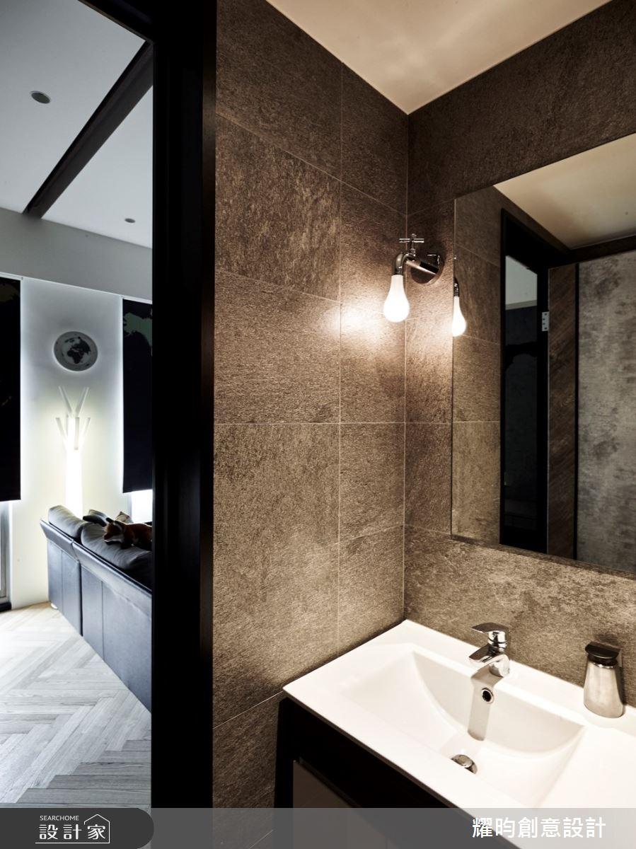 13坪中古屋(5~15年)_北歐風浴室案例圖片_耀昀創意設計_耀昀_55之16