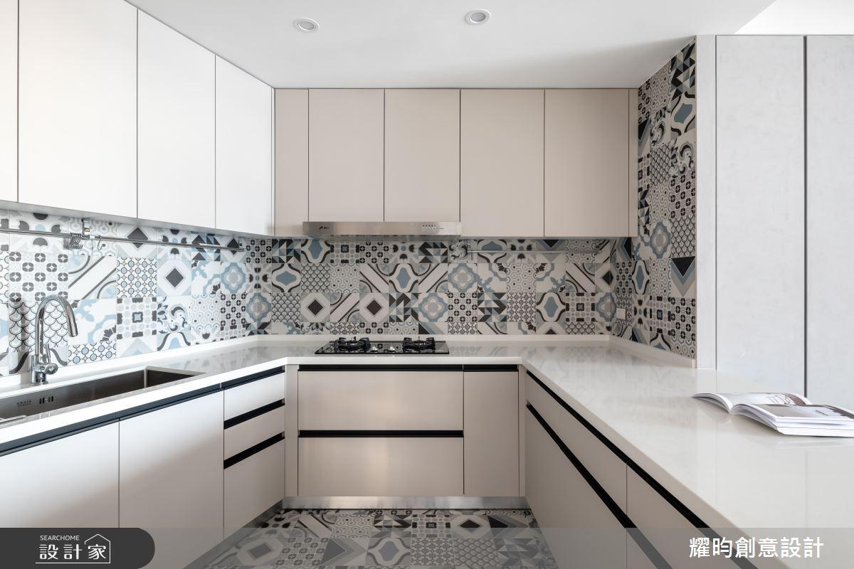 50坪中古屋(5~15年)_北歐風廚房案例圖片_耀昀創意設計_耀昀_57之8