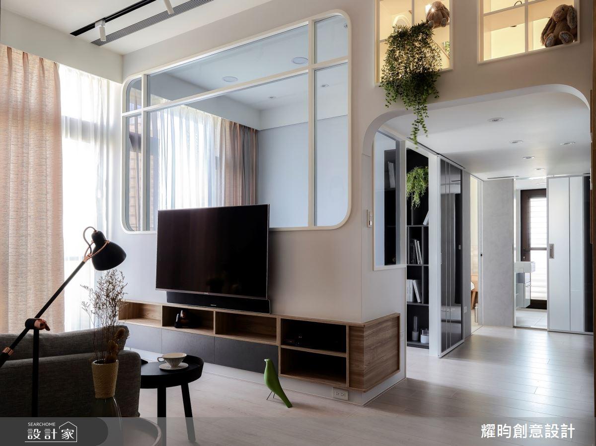 13坪新成屋(5年以下)_北歐風客廳案例圖片_耀昀創意設計_耀昀_58之2