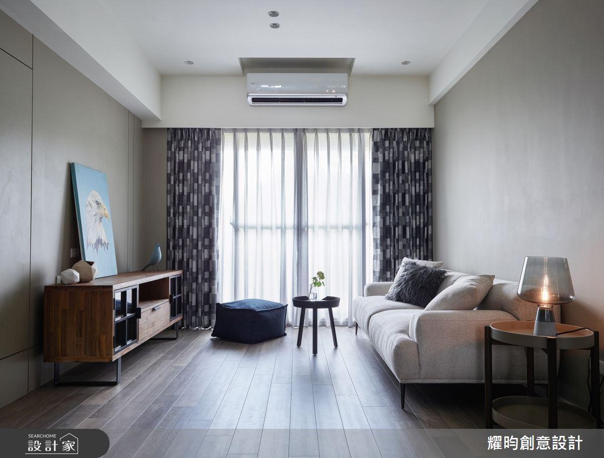 22坪新成屋(5年以下)_北歐風客廳案例圖片_耀昀創意設計_耀昀_60之2