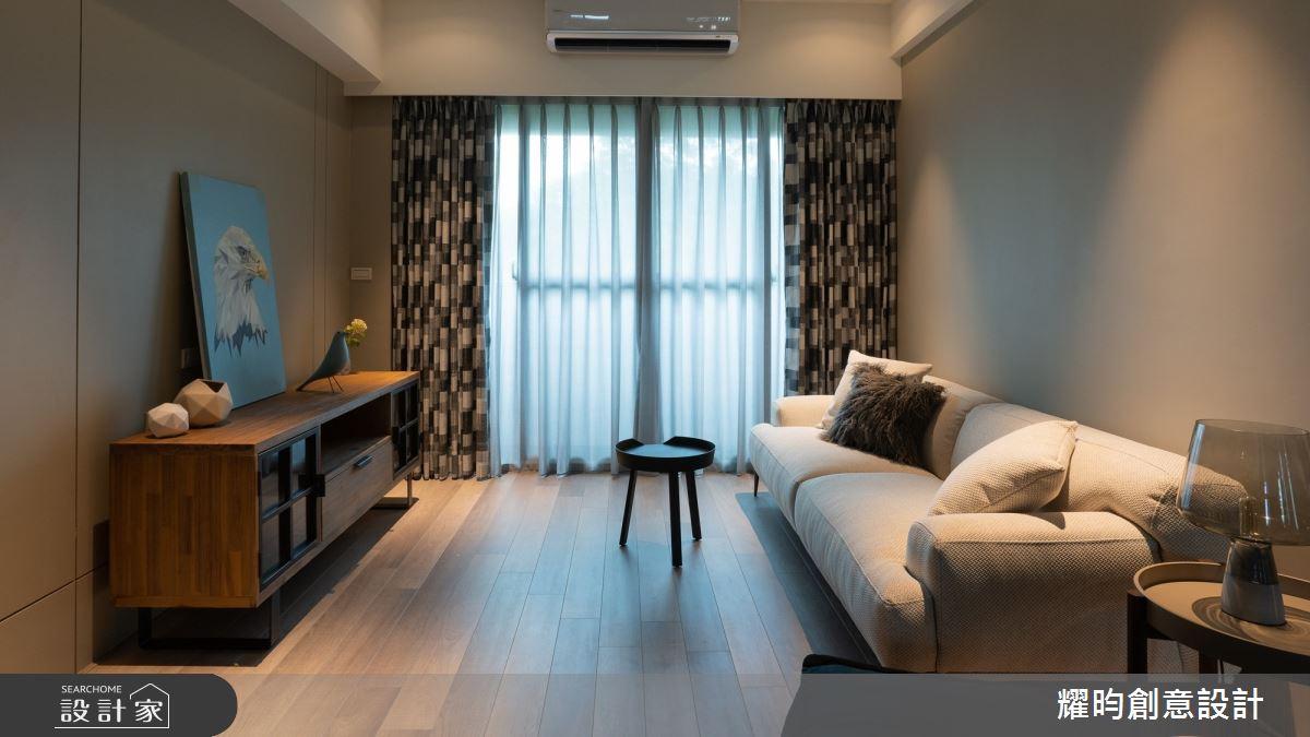22坪新成屋(5年以下)_北歐風客廳案例圖片_耀昀創意設計_耀昀_60之4