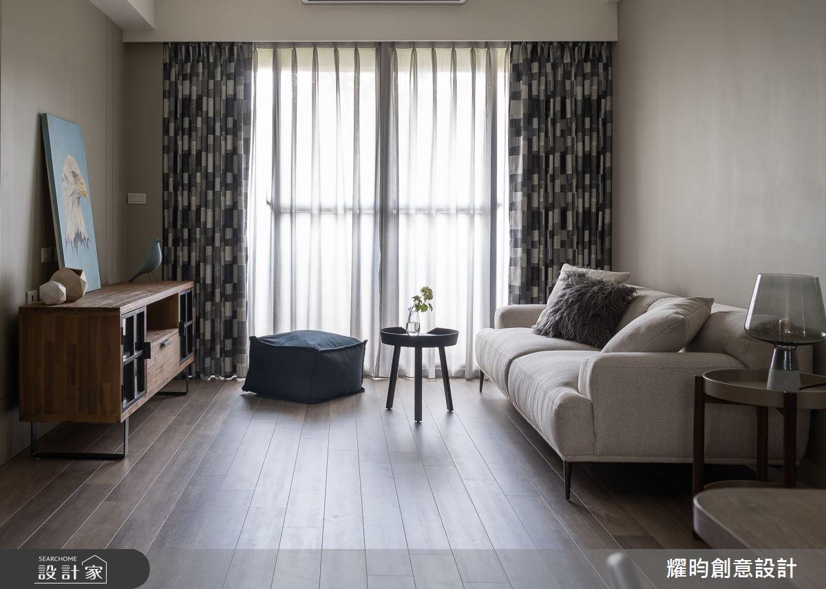 22坪新成屋(5年以下)_北歐風客廳案例圖片_耀昀創意設計_耀昀_60之3