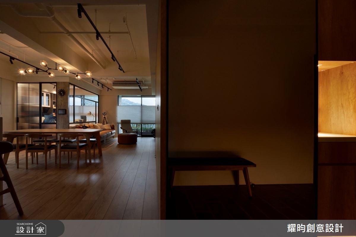 38坪新成屋(5年以下)_北歐風玄關案例圖片_耀昀創意設計_耀昀_62之3