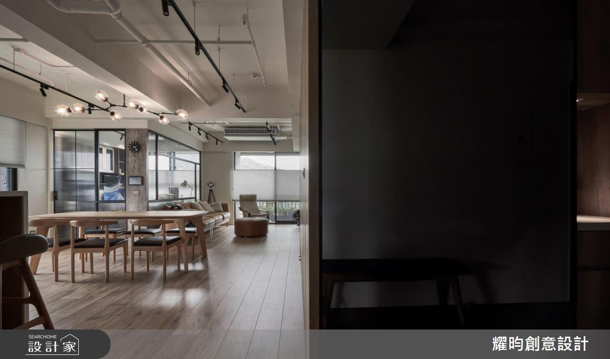 38坪新成屋(5年以下)_北歐風玄關案例圖片_耀昀創意設計_耀昀_62之4