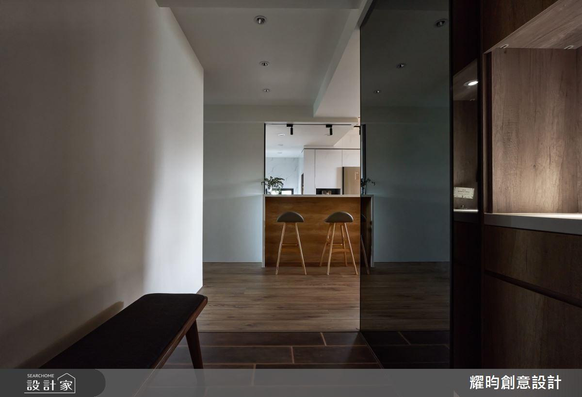 38坪新成屋(5年以下)_北歐風玄關案例圖片_耀昀創意設計_耀昀_62之2